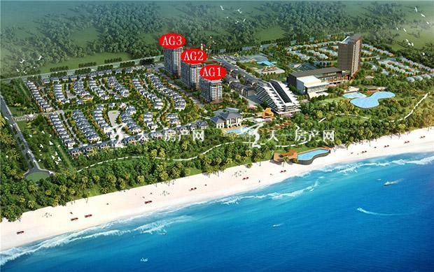"""""""文昌房地产开发主要位于海南著名旅游风景区之一的高隆湾和月亮湾"""